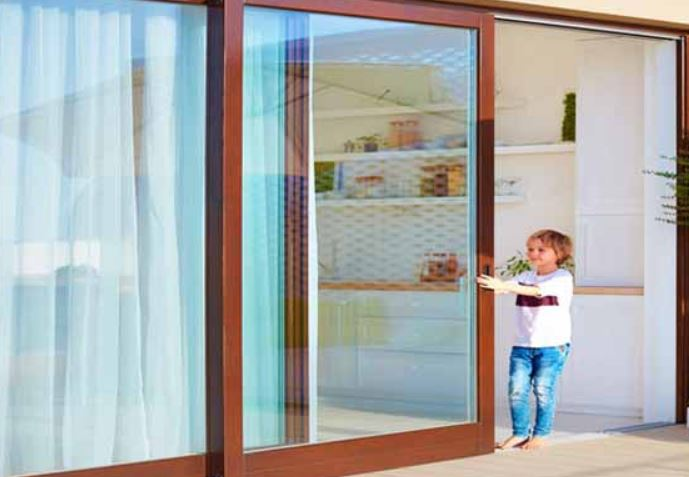 custom patio door installation